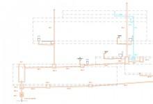 Plano sección de instalación